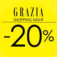 Grazia shopping night & Bonatti!